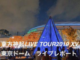 東方神起LIVE TOUR2019XV 東京ドーム講演レポート